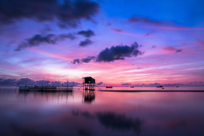 Levée du soleil sur Phu Quoc, Vietnam