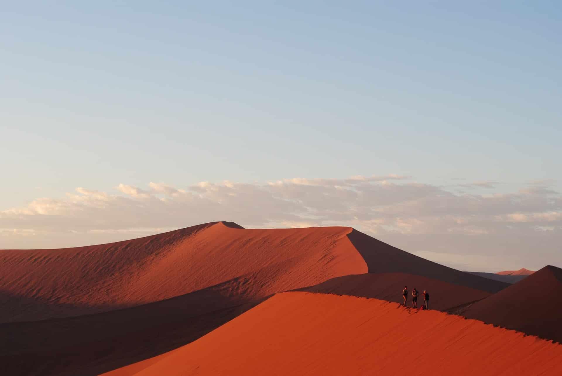 Les dunes rouges de Namibie