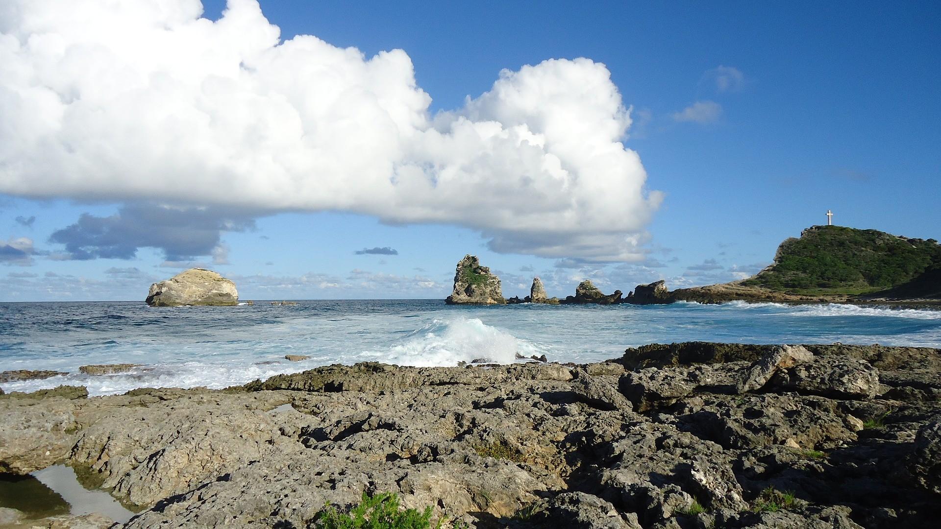 Une vue de Guadeloupe