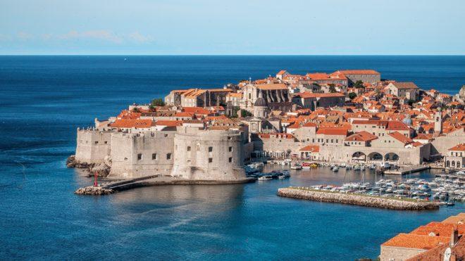 Dubrovnik, en Croatie.