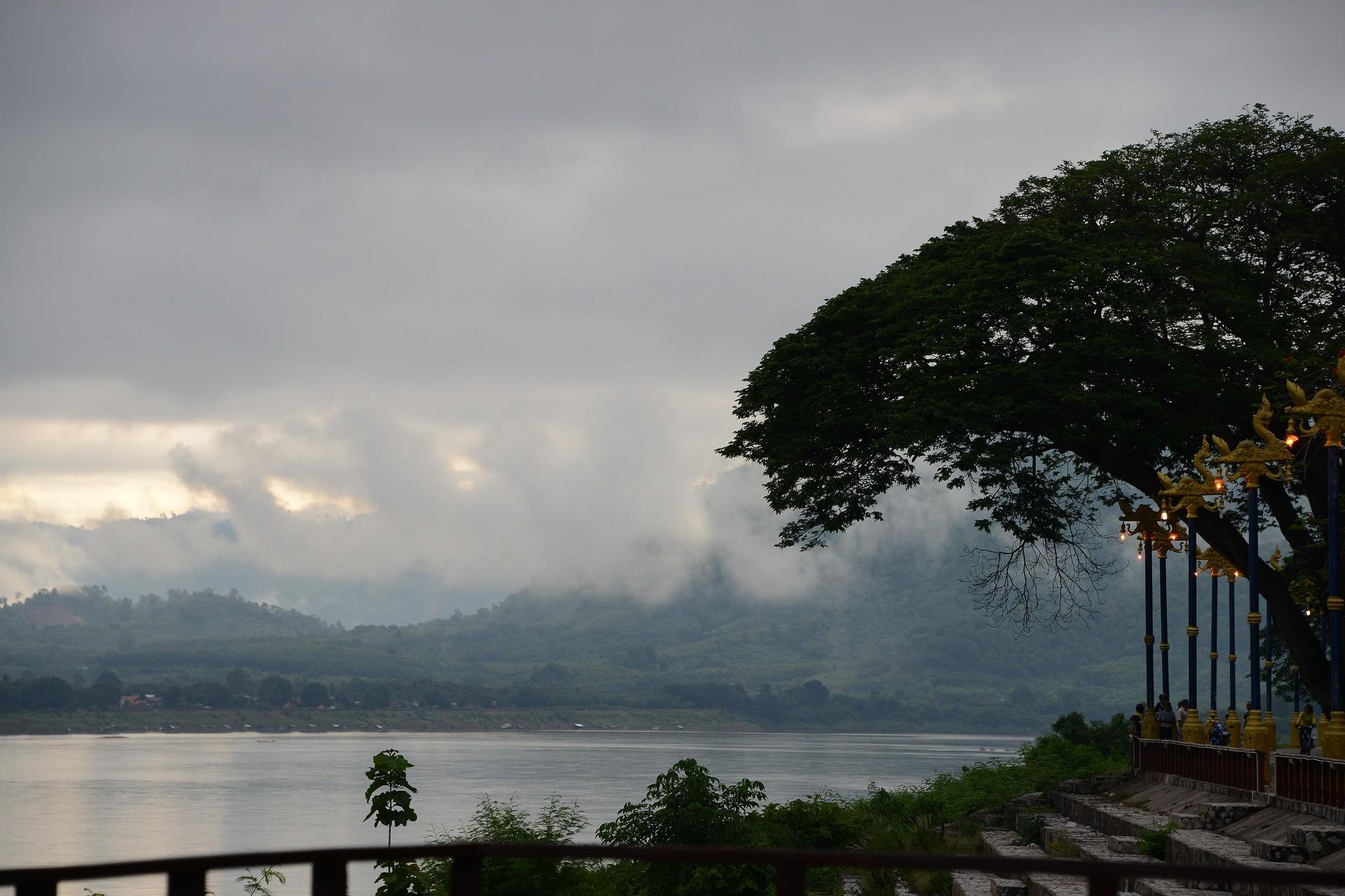 Le Mekong, au Laos.