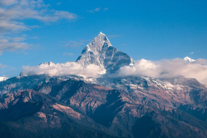 La chaîne de l'HImalaya au Népal.