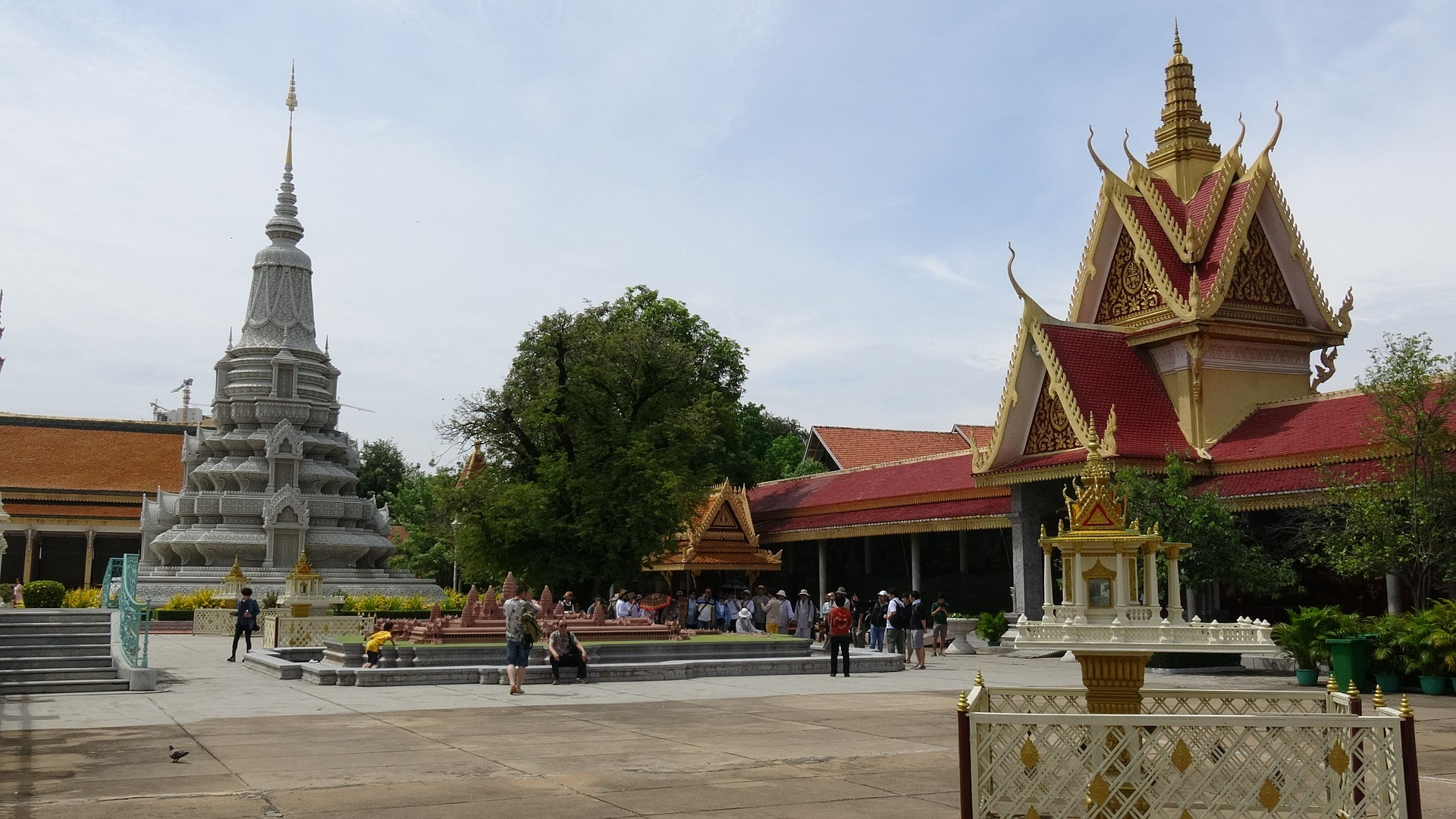 Vue de Phnom Penh, capitale du Cambodge