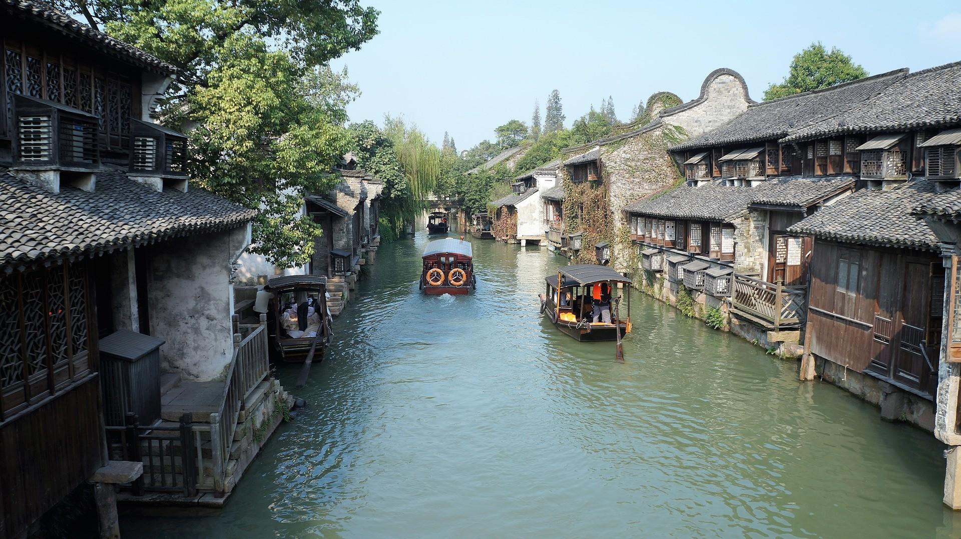 Wuzhen, village aux 6.000 ans d'histoire.