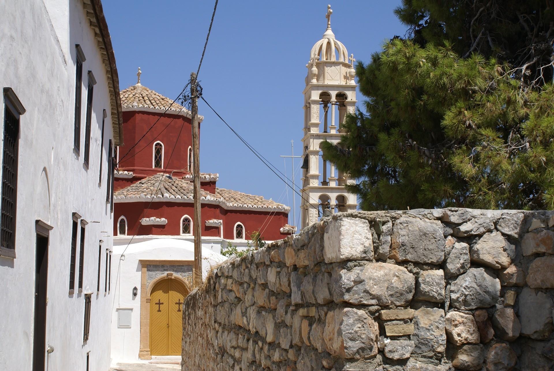 Sur l'île d'Hydra, en Grèce.