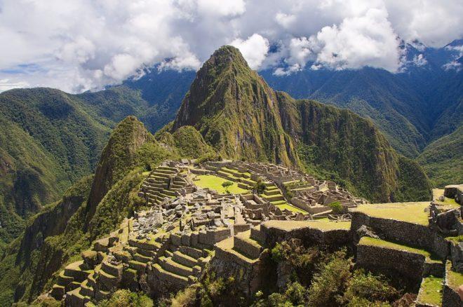 Le site du Machu Picchu, au Pérou