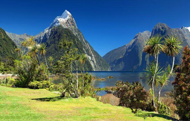 Mitre Peak, en Nouvelle-Zélande