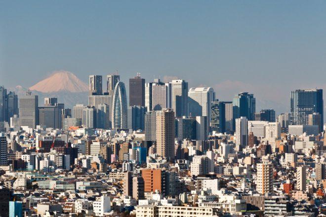 Tokyo et le Mont Fuji