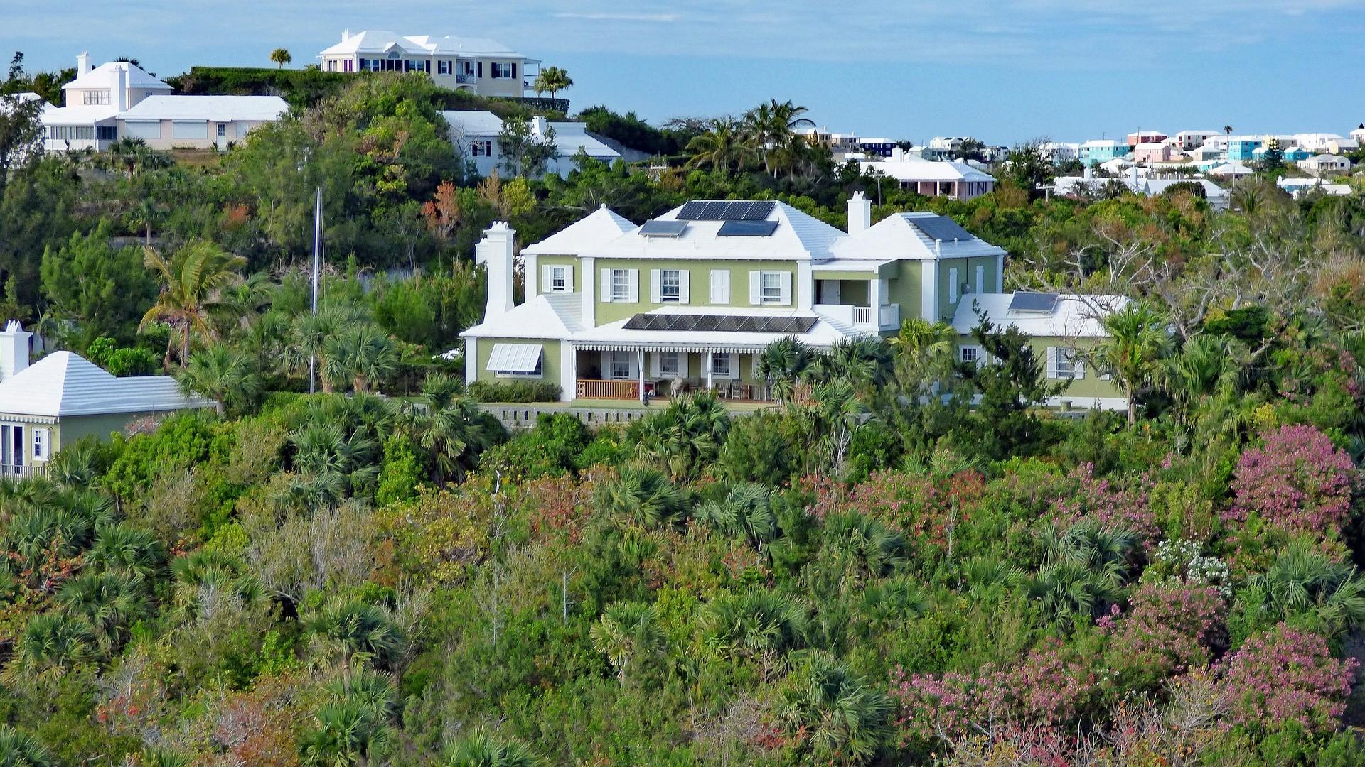 L'architecture des Bermudes.