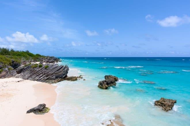 Horseshoe Bay, dans l'archipel des Bermudes