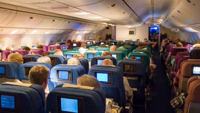 Photo d'illustration. Des sièges d'avions.