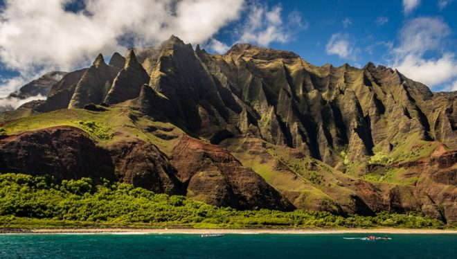 Paysage d'Hawaii.