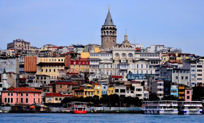 La tour de Galata à Istanbul, Turquie.