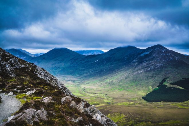 Paysage du Connemara, Irlande
