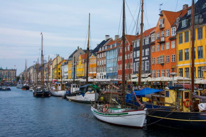 Copenhague, quartuer Nyhavn.