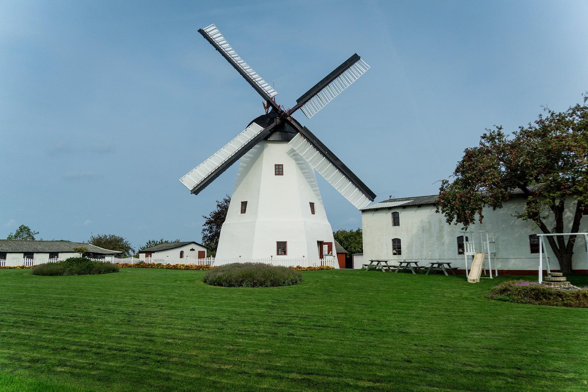 Moulin à vent de Borholm.