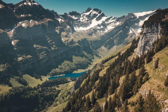 L'Ebenalp dans les Alpes appenzelloises