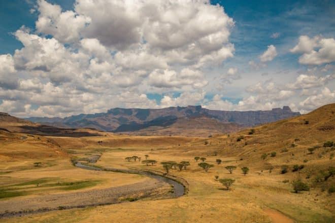 Mont-aux-Sources, Afrique du Sud.