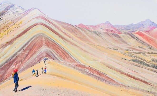 La Rainbow Mountain, dans les environs de Cuzco