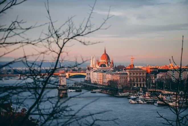 Budapest, en Hongrie.