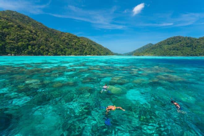 Îles Surin, en Thaïlande