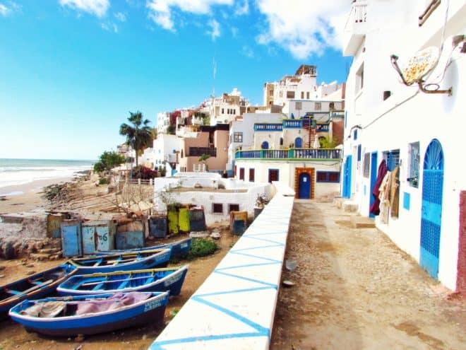 Taghazout, au Maroc.