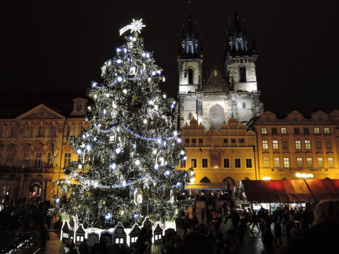 Noël à Prague.