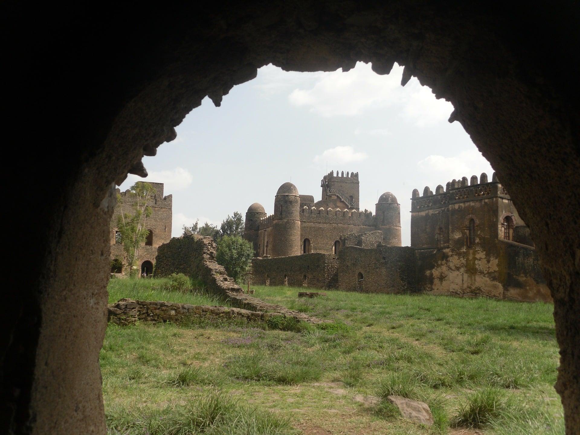 Gondar, ancienne capitale éthiopienne.