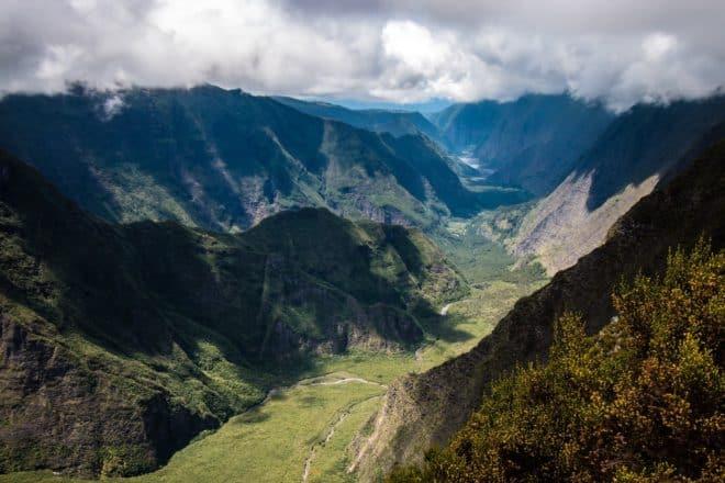 Île de la Réunion, Rivière des Remparts.