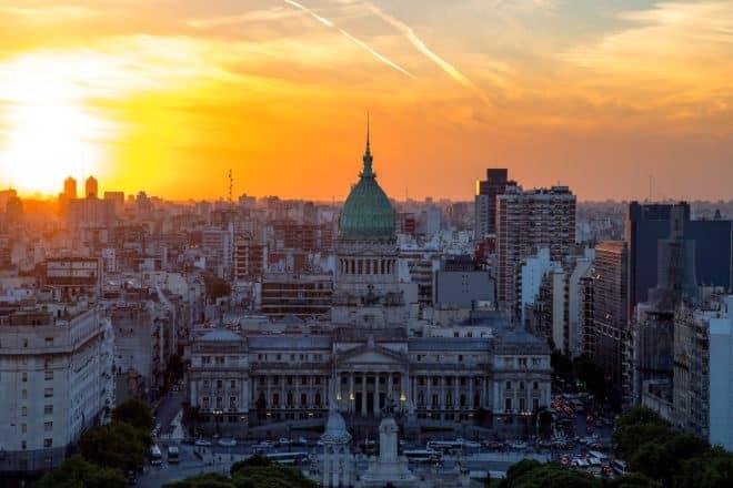 Le Palacio Barolo à Buenos Aires, Argentine.