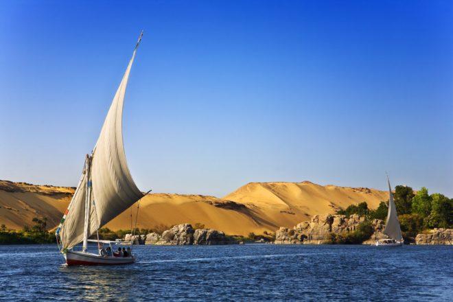 Une croisière sur le Nil.