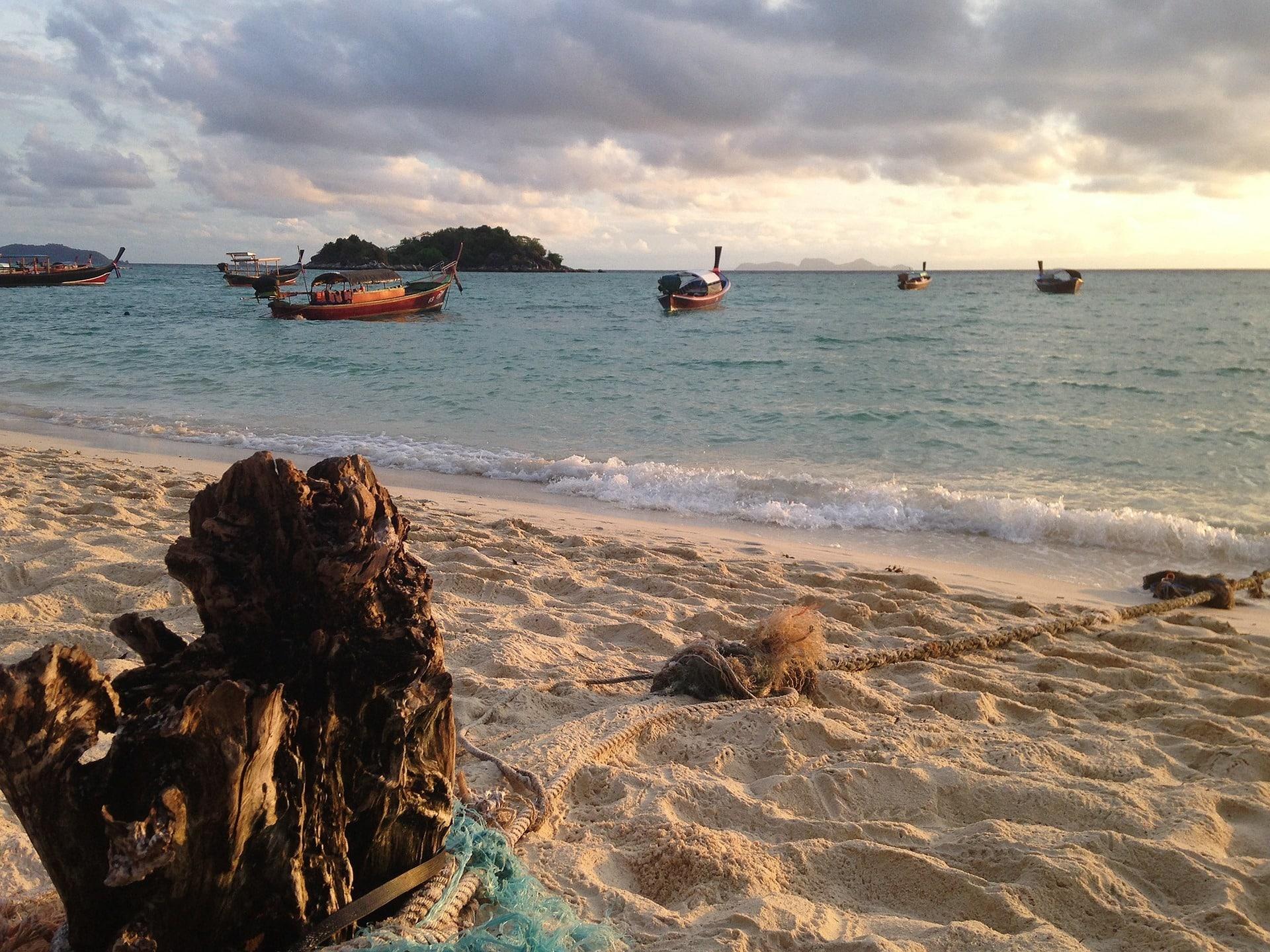 L'île de Kho Lipe, en Thaïlande.
